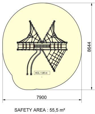 Matrix Climbing Dome Plan