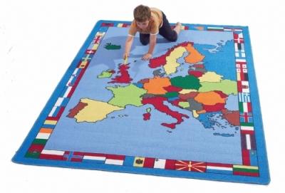 European-Map-Rug 2