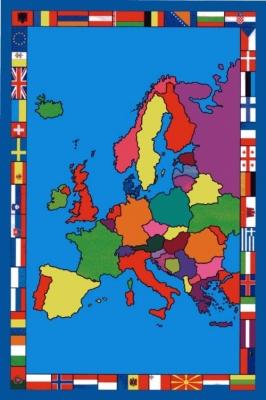 European-Map-Rug 4