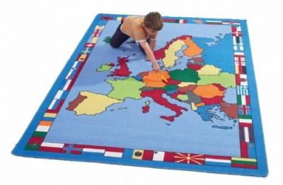 European-Map-Rug