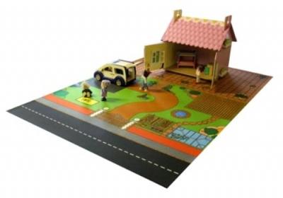 Dolls House Playmat