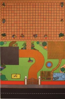 Kids Dolls House Playmat 01