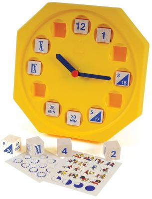 Show Me Time Teacher Clock
