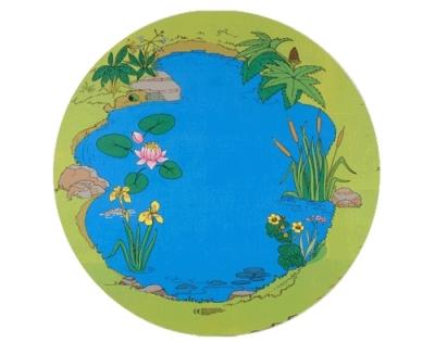 Circular Pond Playmat