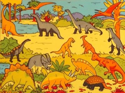 Dinosaur Playmat For Kids Learning