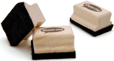 Show Me Mini Wooden-Handled Erasers