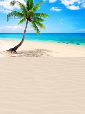 Desert Island Supergiant Playmat
