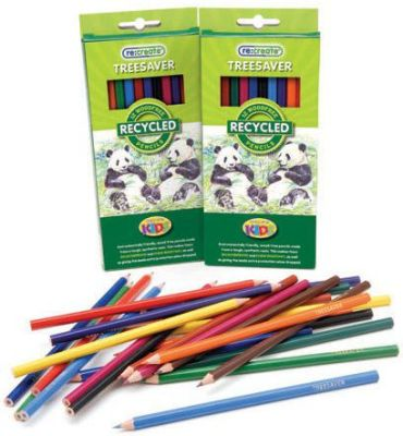 """Recreate Treesaverâ""""¢ Recycled Colouring Pencils - 12 Pack"""