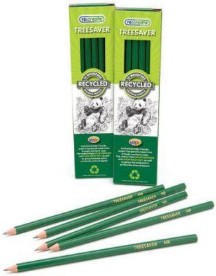 "Recreate Treesaverâ""¢ Recycled HB Pencils - 12 Pack"