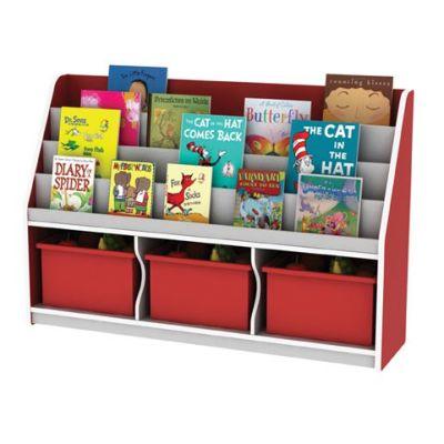 LRM 3 Compartment Book Storage