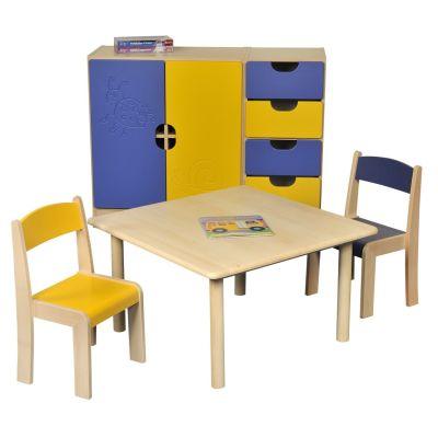 JS Square Table