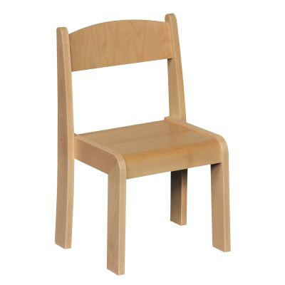 JS Wood Primary Chairs (4 Pack) Beech