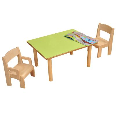 JS Height Adjustable Rectangular Table 1