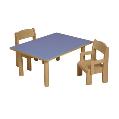 JS Height Adjustable Rectangular Table 12