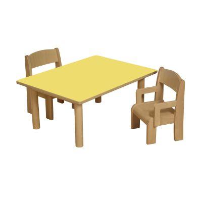 JS Height Adjustable Rectangular Table 13