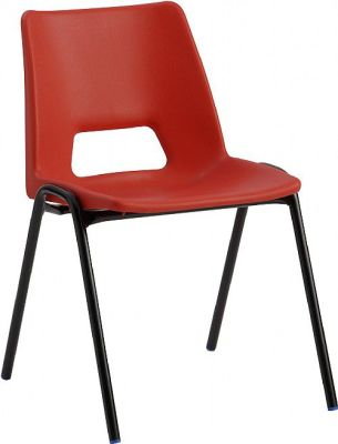 PP1 Poly Chair Red