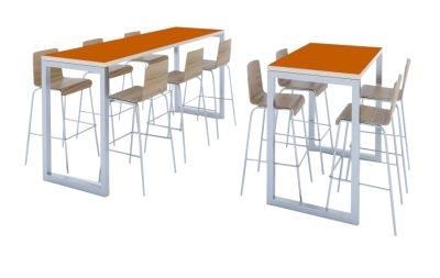 Transter Bar Height Benches