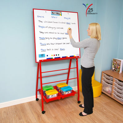 Big A Frame Mobile Easel 1 Red
