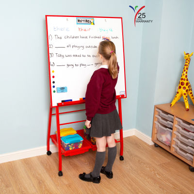 Big A Frame Mobile Easel 2 Red