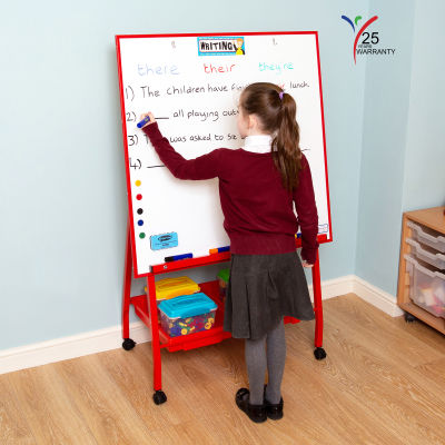 Big A Frame Mobile Easel 3 Red