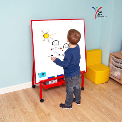 Big A Frame Mobile Easel 4 Red