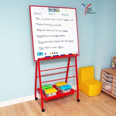 Big A Frame Mobile Easel 6 Red