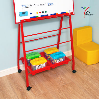 Big A Frame Mobile Easel 7 Red