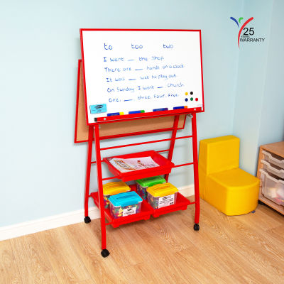 Double Board A Frame Easel Landscape Red 5