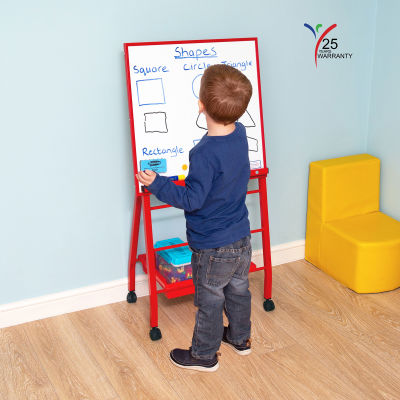 Little A Frame Mobile Easel Red 2