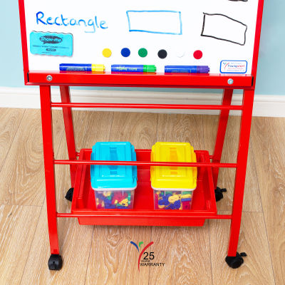 Little A Frame Mobile Easel Red 6