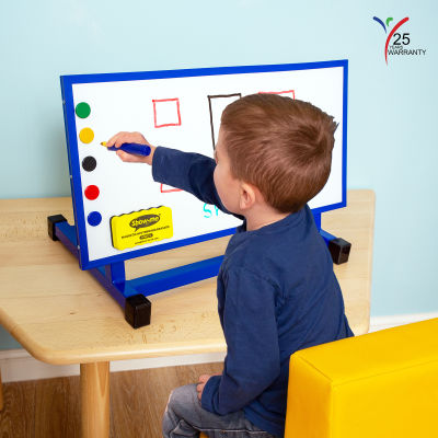 Small Multipurpose Desktop Easel Blue 1