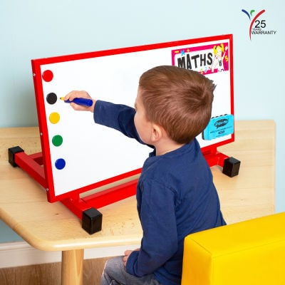 Small Multipurpose Desktop Easel Red 1