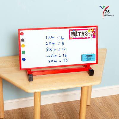 Small Multipurpose Desktop Easel Red 2