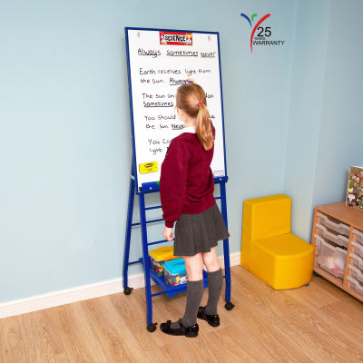 Single Board Mobile A Frame Easel Blue 2