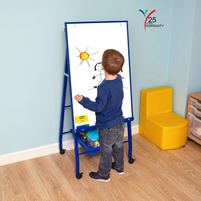 Single Board Mobile A Frame Easel Blue 4