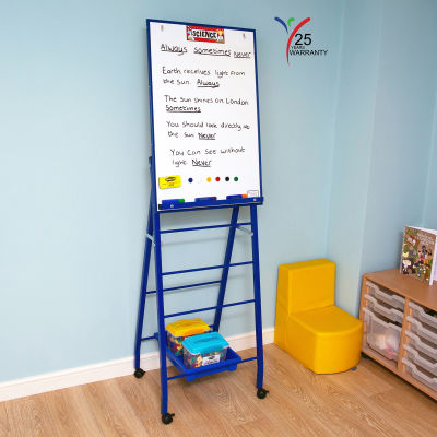 Single Board Mobile A Frame Easel Blue 6