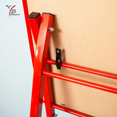 Single Board Mobile A Frame Easel Red 8